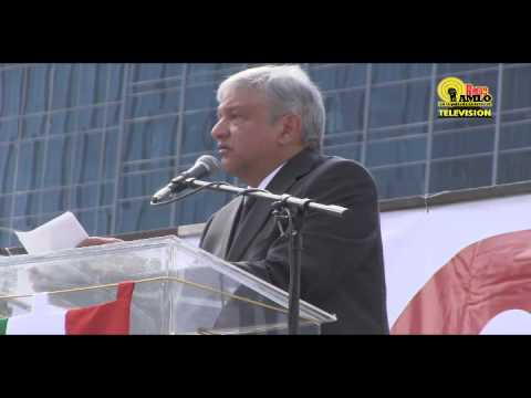 Andrs Manuel Lpez Obrador #AMLO discurso ngel de la Independencia