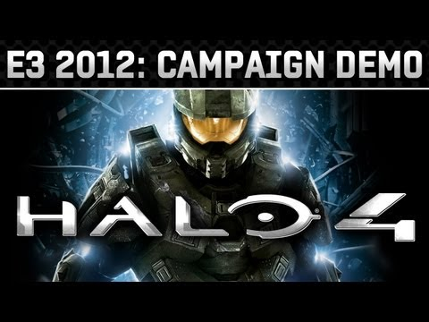 E3 2012: Halo 4 Gameplay Video (HD 720p)