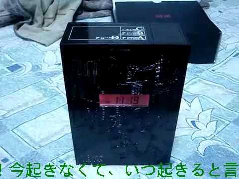 林修先生が、杉下右京さんの目覚まし時計を買うとこうなる(笑)