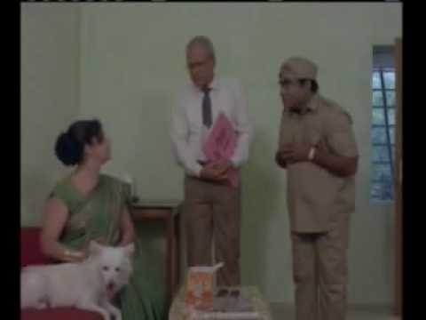 Babu Mohan and Y. Vijaya comedy