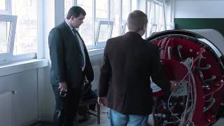 Презентационный ролик о демонстрации нового оборудования Завода