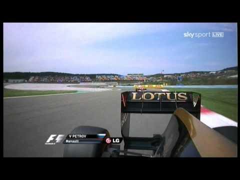F1 2011 sound R31