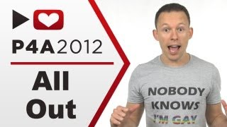 Project for Awesome 2012 - All Out for lgbt rights & equality