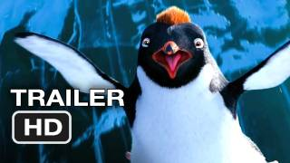 Happy Feet Two Official Trailer - Robin Williams Movie (2011) HD