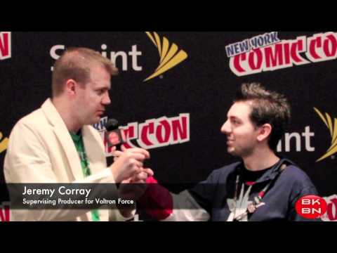 Let-s Go Voltron Force! Interview with Jeremy Corray on Voltron Force at NYCC 2011