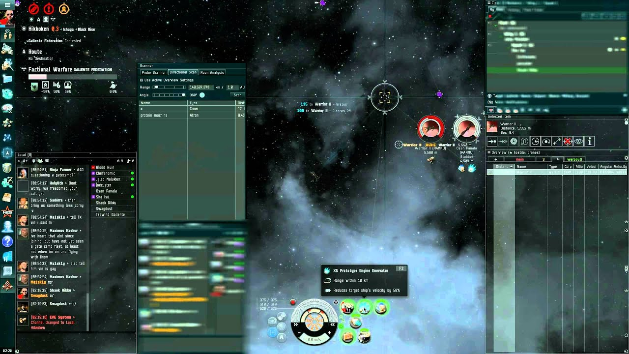 Eve Online small gang fights