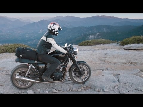 Weekend Adventuring with the Triumph Bonneville - RideApart