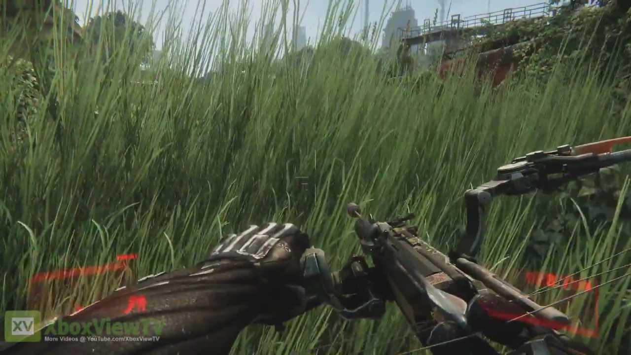 Crysis 3 | Train Yard Gameplay Preview [EN] (2013) | FULL HD