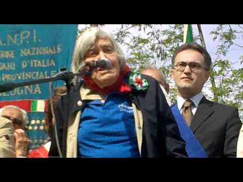 Resistere, Resistere, Resistere! Margherita Hack e Giancarlo Caselli a Marzabotto (BO) Parte prima