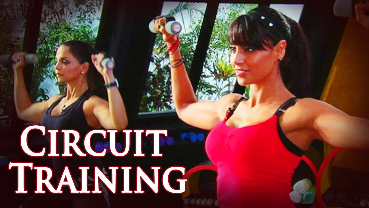25 Min High Intensity Circuit Training Workout - Fat Burning Exercises - Bipasha Basu Love Yourself
