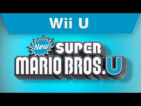 New Super Mario Bros. U E3 Tráiler