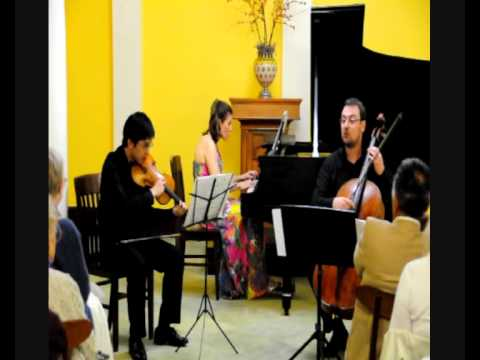 The Manhattan Piano Trio plays Ranjbaran: Shiraz Part 3