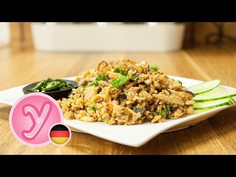 lecker GEBRATENER REIS / FRIED RICE mit Hühnchen und Shrimps -  schnell und einfach selbstgemacht :) - UC990hStWQ3tgj1Zk_ASTRoQ