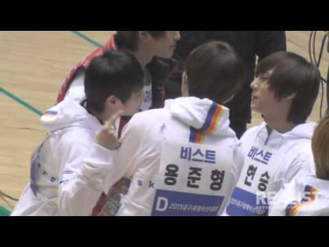 JunSeob Seungho @ Idol Athletics Championship