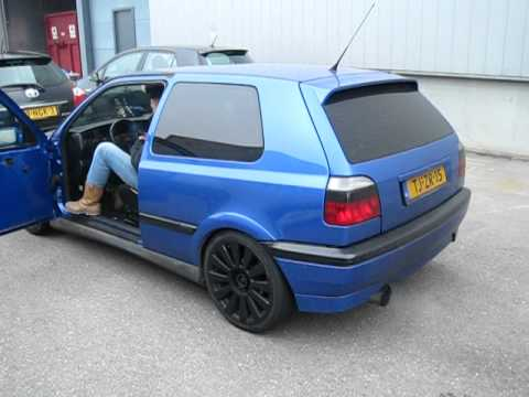 Volkswagen Golf VR6 MK3 Etter Exhaust Bang