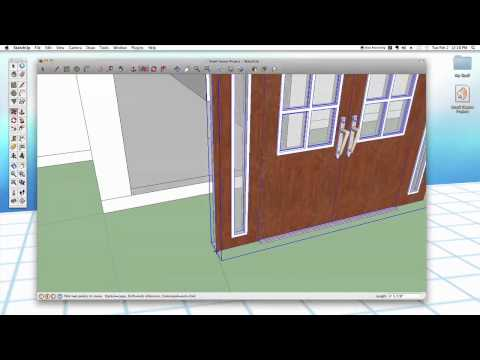 Sketchup #26: Advanced Doors &amp; Windows