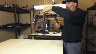 Quadrocopter Tutorial - Red Scarlet/CineStar 360 Gimbal