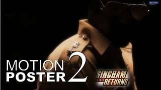Singham Returns Motion Poster 2