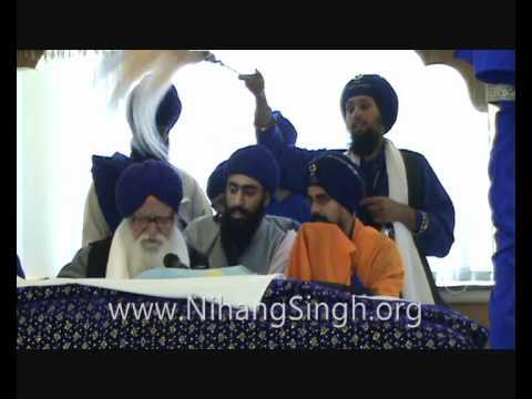 Akhand Path Bhog - Full Salok Muhalla 9 - Budha Dal Jorh Mela UK