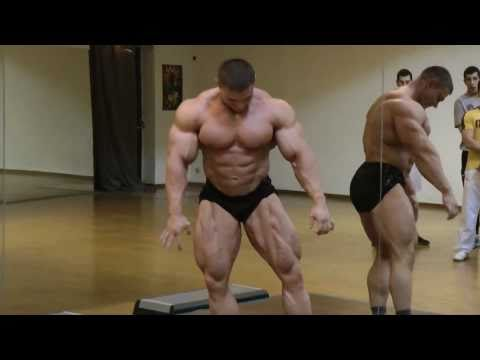 Alexey Lesukov Posing Practice 2011 FIBO