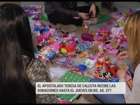 El Apostolado Teresa de Calcuta entregará juguetes en dos barrios de Paraná