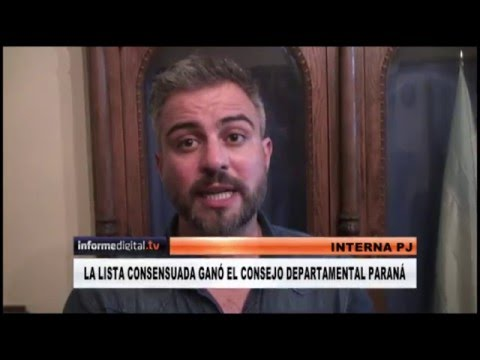 <b>PJ Paraná.</b> La lista consensuada ganó la interna