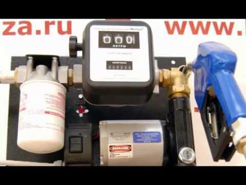 Использование топливораздаточных колонок Benza (видео)