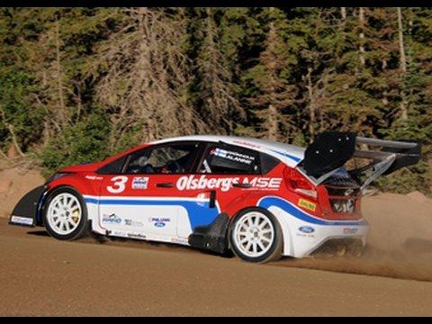 Peak Performance! Ford Fiesta RallyCross storms Pikes Peak