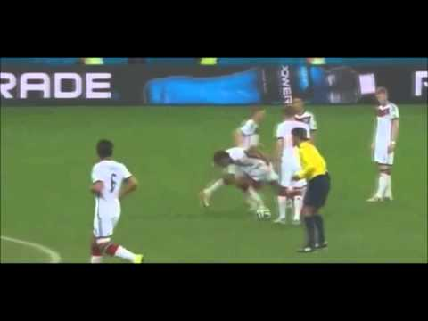 Thomas Müller Epic Fail Vs Algerie | Germany Vs Algerie - World Cup 2014