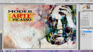 tutorial photoshop cs5, cartel acuarela