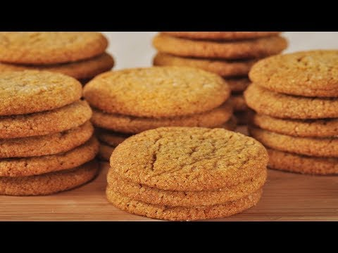 Ginger Cookies Recipe Demonstration - Joyofbaking.com