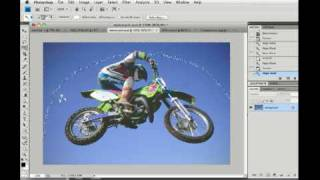 Photoshop CS4/CS5 Magic Wand tool tutorial