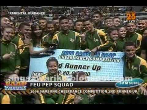 2009 UAAP Cheerdance Teaser - FEU CHEERING SQUAD ( stand up for love discomix )