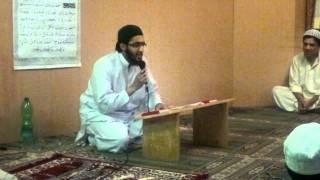 Hafiz Ahsan Amin Khak Madine Di Neuss Germany
