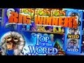 Top of the Wold Bonus + Live Bonus 1c Bally Video Slots