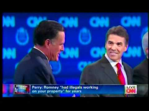 Mitt Romney- I-m Running for Office! I Can-t Have Illegals!