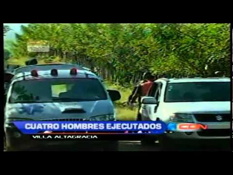 Cuatro hombres fueron ejecutados en Villa Altagracia