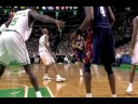 LeBron James Alley-Oop Slam vs. Celtics (10.28.08)