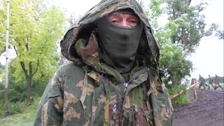 Террорист ДНР перешел на сторону Украинской Армии