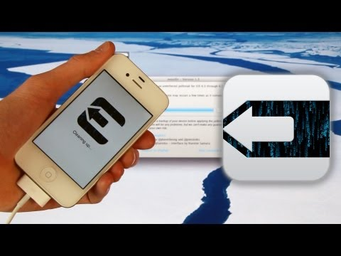 NEW Jailbreak 6.1.1 Untethered iPhone 4S iOS 6.1 i5,4,3Gs,iPod Touch 5,4 & iPad Mini,4,3,2