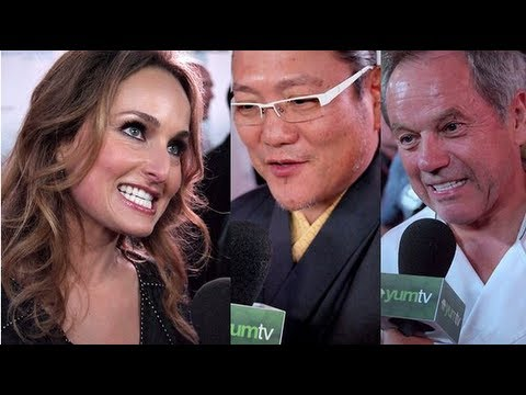 Wolfgang Puck, Giada de Laurentiis, and Masaharu Morimoto Share Cooking Tips