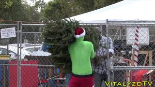 Grinch christmas prank