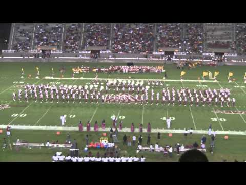Alabama A&M University Band 2011 - 2011 Louis Crews Classic Halftime Show