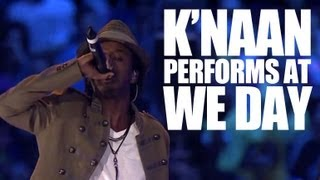 K'naan - Take a Minute - Live at We Day