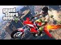 GTA 5 GUN RUNNING DLC - FLYING ROCKET BIKE!! (GTA 5 Gun Running Update)