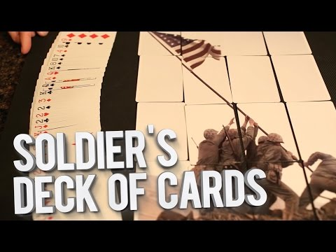 Soldiers Deck of Cards