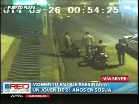 Asesinato de un joven en Sosúa, puerto Plata.