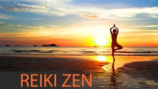 Reiki Zen Meditation Music: 8 Hour Healing Music, Positive Motivating Energy ☯114