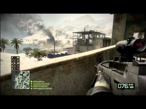 Battlefield Bad Company 2 XM-8 LMG (Mini) Review w/ Commentary