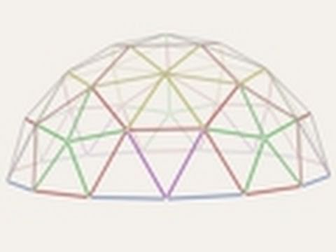 Geodesic Dome Greenhouse - Part 3 - Strut Construction